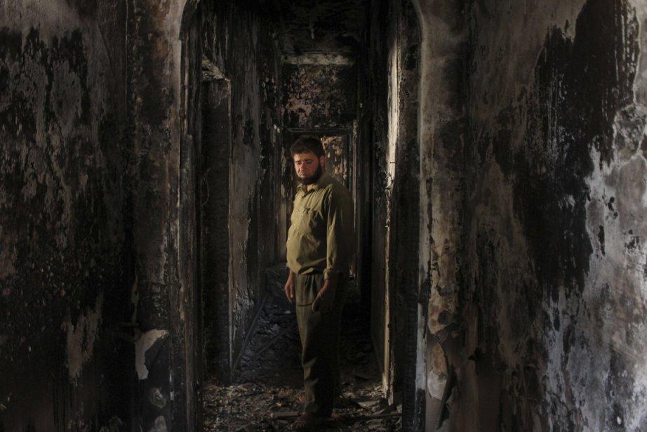 Des dizaines de milliers de personnes seraient détenues... (PHOTO AREF HRETANI, REUTERS)