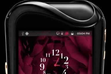 Le fabricant suisseSavellia dessiné une nouvelle gamme de smartphones de luxe...
