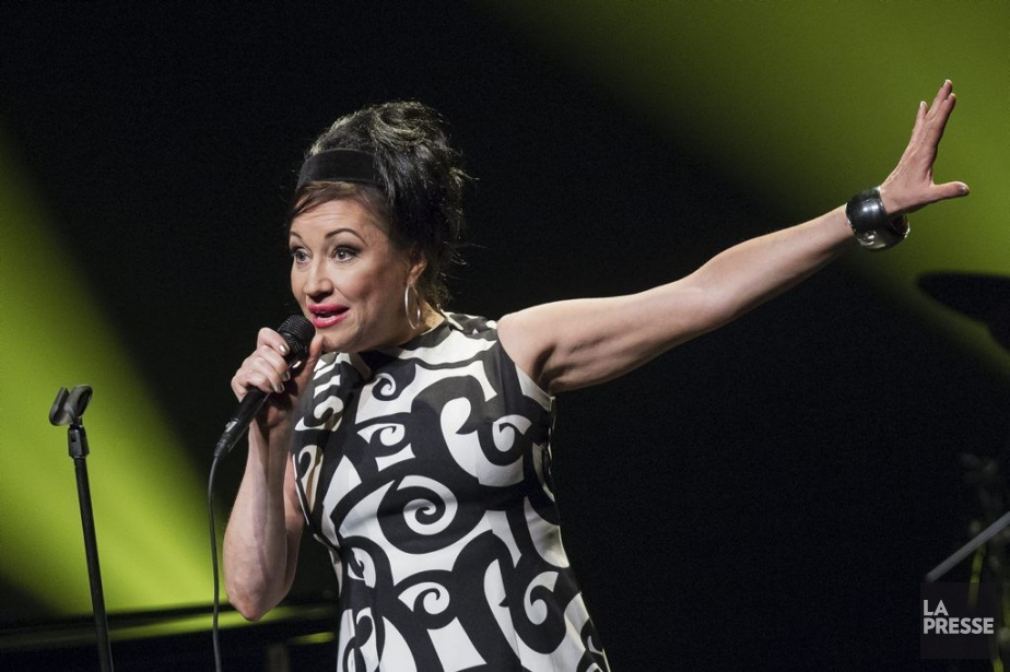 Holly Cole a livré une version vibrante de... (Photo Édouard Plante-Fréchette, La Presse)
