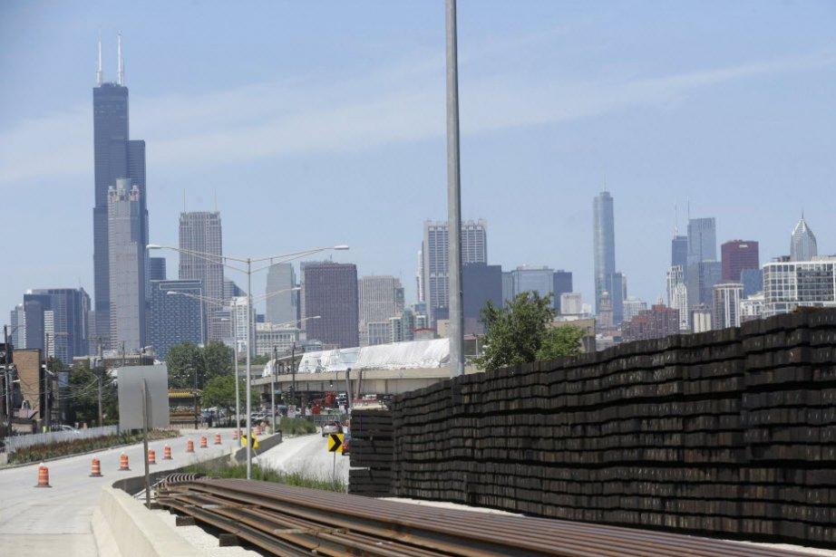 La croissance de l'activité économique de la région de Chicago a nettement...