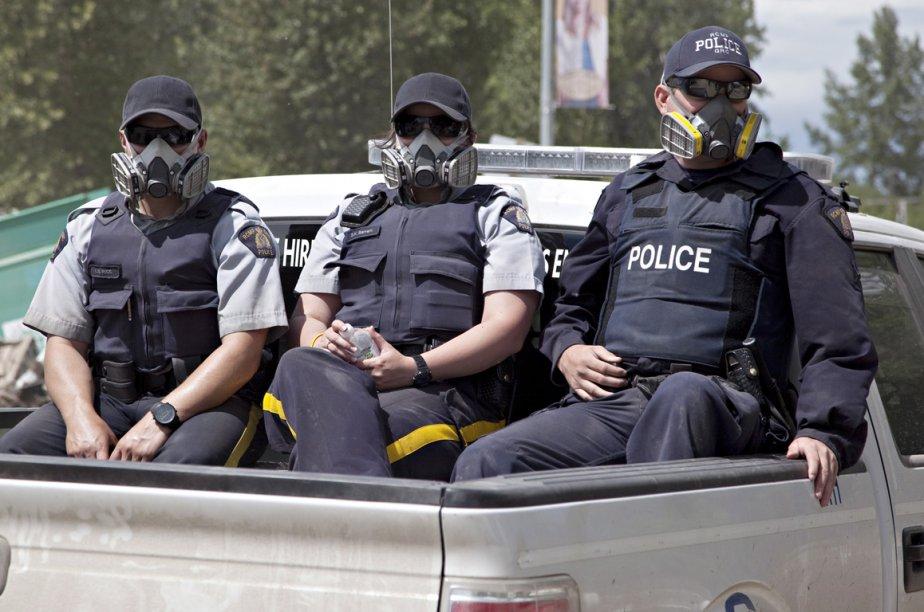 La GRC confirme que des policiers ont saisi... (Photo La Presse Canadienne)