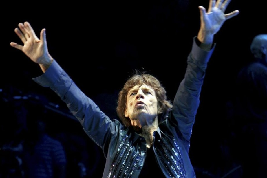 Mick Jagger... (Photo Rob O'Neal, Associated Press)