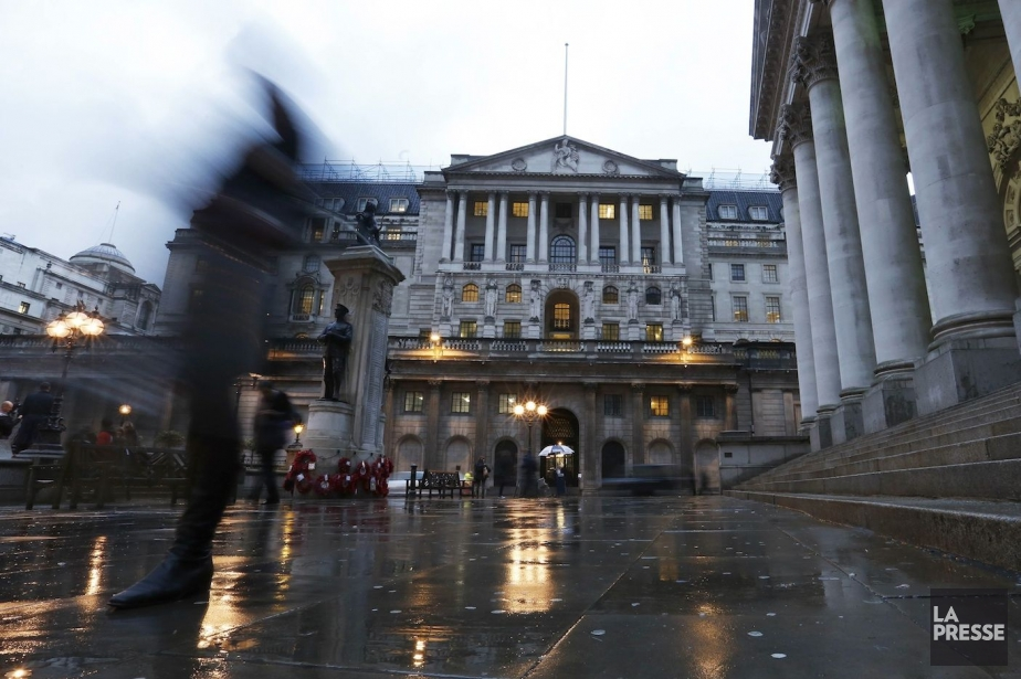 La Banque d'Angleterre, qui accueillera Mark Carney le 1er... (Photo Olivia Harris, REUTERS)