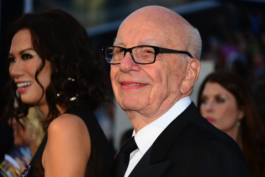 Rupert Murdoch... (PHOTO FREDERIC J. BROWN, AFP)