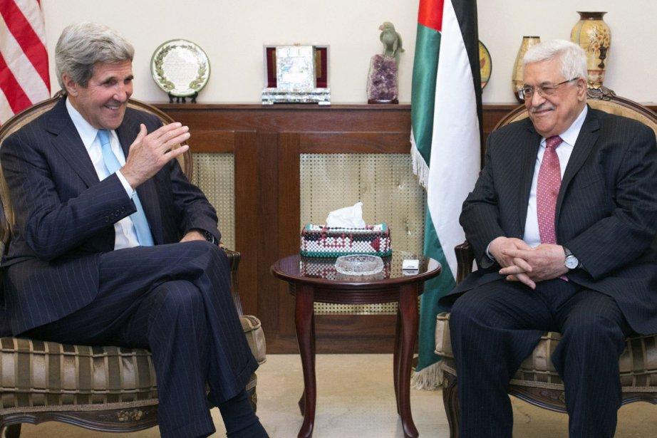 Le secrétaire d'État américain John Kerry... (PHOTO JACQUELYN MARTIN, REUTERS)