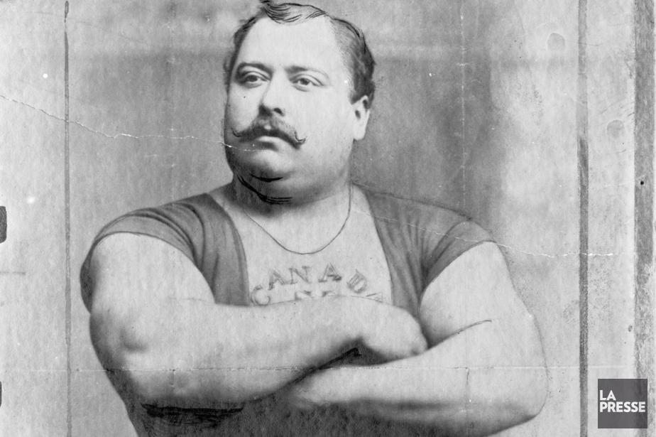 Louis Cyr fut sans aucun doite l'athlète québécois... (Photo archives La Presse)