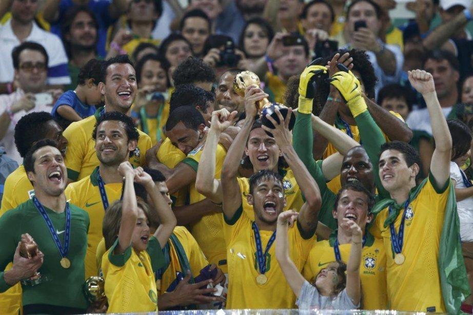 Le Brésilremporte la compétition pour la troisième fois... (PHOTO MARCOS BRINDICCI, REUTERS)