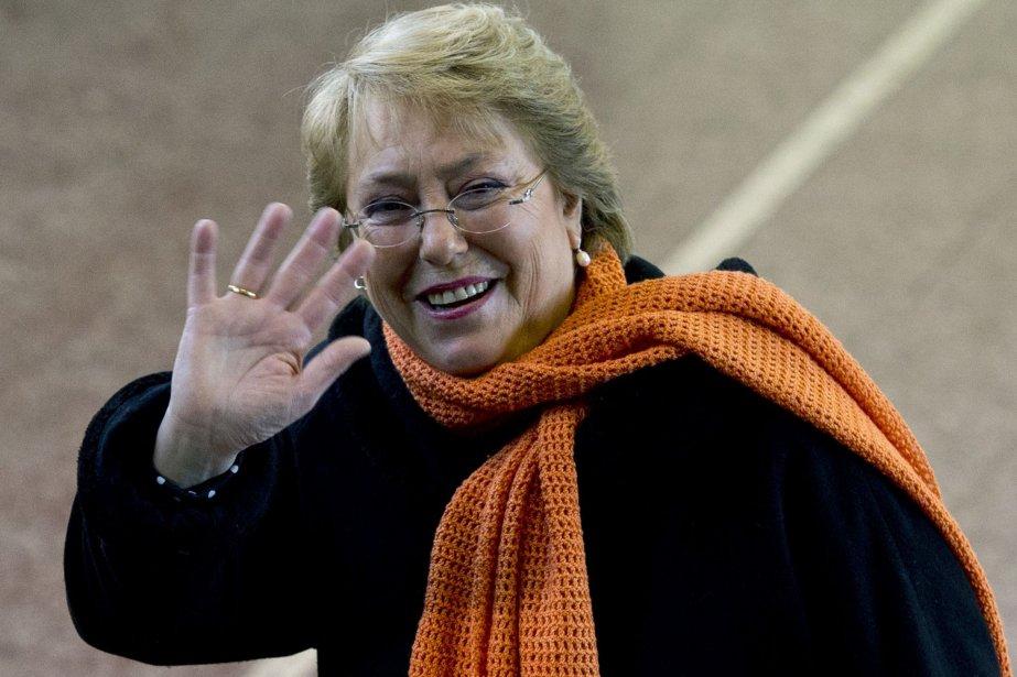 Michelle Bachelet... (PHOTO MARTIN BERNETTI, AFP)