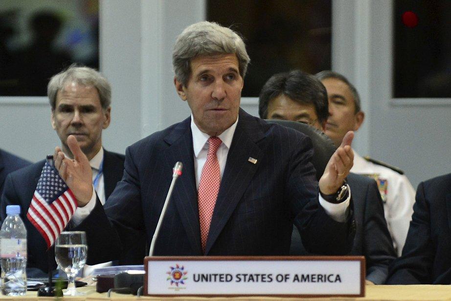 Le secrétaire d'État américain John Kerry.... (Photo: Reuters)