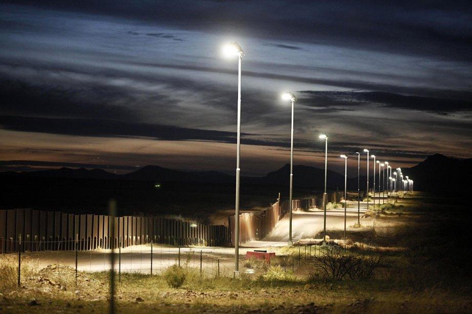 Sur la photo, la frontière entre l'Arizona et... (Photo: Reuters)