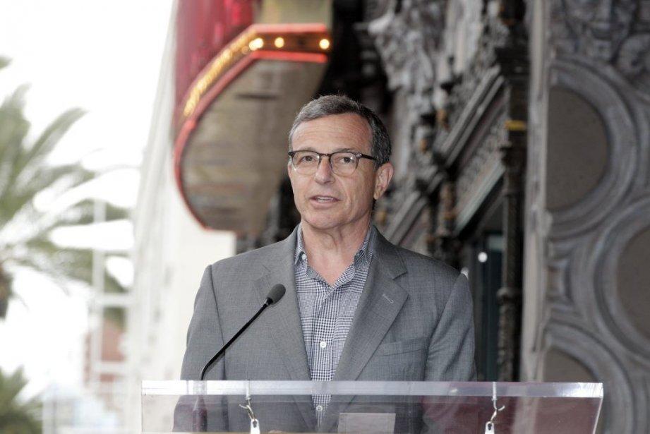 Robert Igeravait été nommé directeur général de Disney... (PHOTO FRED PROUSER, REUTERS)