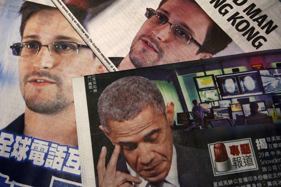 L'ex-consultant du renseignement américain Edward... (PHOTO BOBBY YIP, REUTERS)