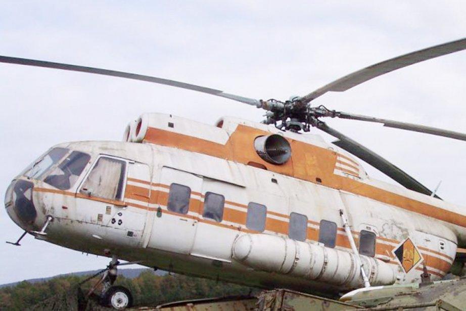 Un hélicoptère de type Mi-8 s'est écrasé en... (PHOTO WIKIPÉDIA)