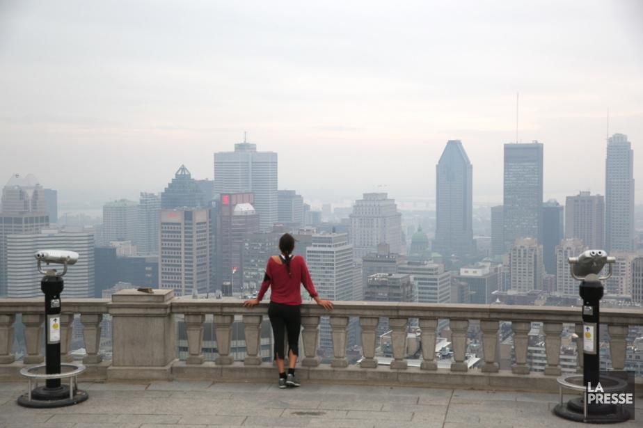 Du smog toute la semaine à Montréal   La Presse