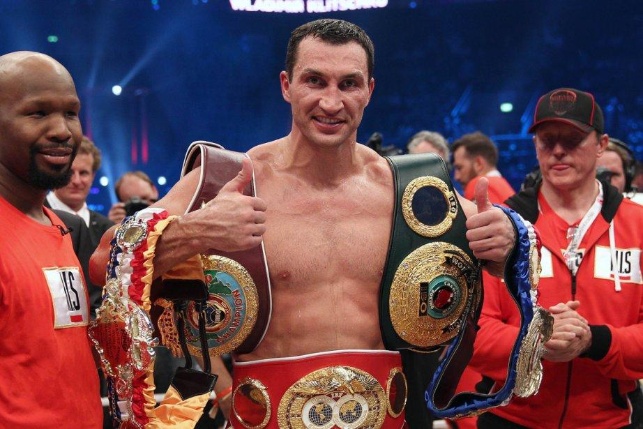 Wladimir Klitschko... (Photo Daniel Roland, AFP)