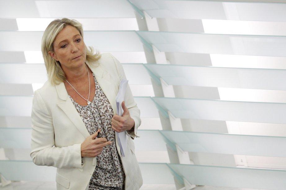 La chef du Front national Marine Le Pen... (PHOTO VINCENT KESSLER, REUTERS)