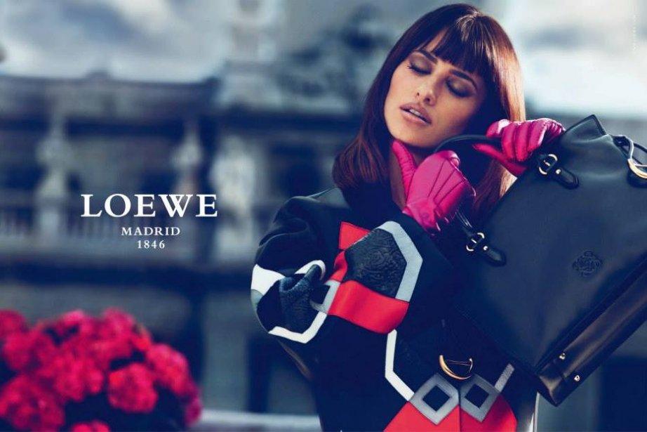 Penelope Cruz pour Loewe, automne/hiver 2013.... (Photo tirée de Facebook)