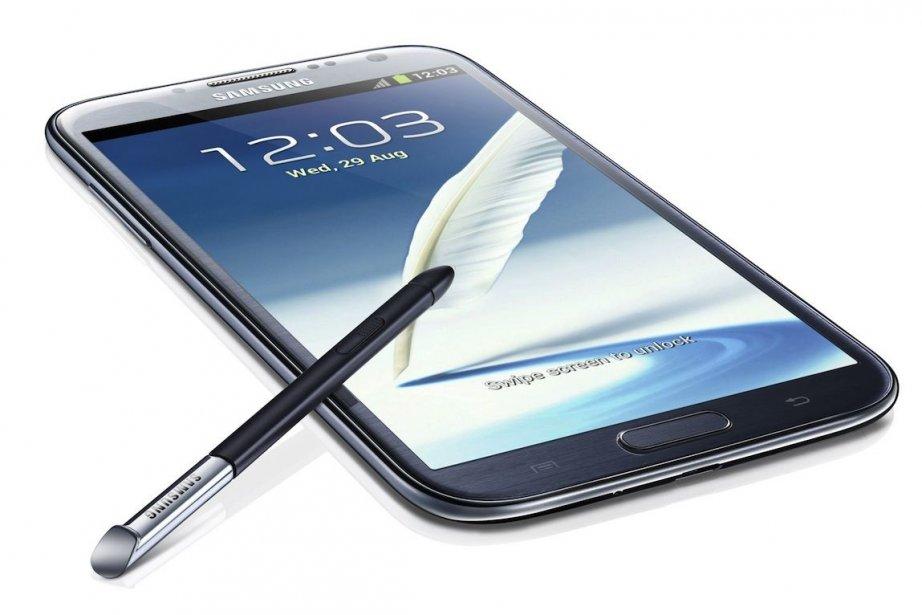 Un successeur au Samsung Galaxy Note 2 pourrait... (Photo Samsung)