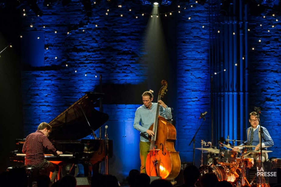 Phronesis est un authentique trio de jazz, plus... (PHOTO EDOUARD PLANTE-FRÉCHETTE, LA PRESSE)