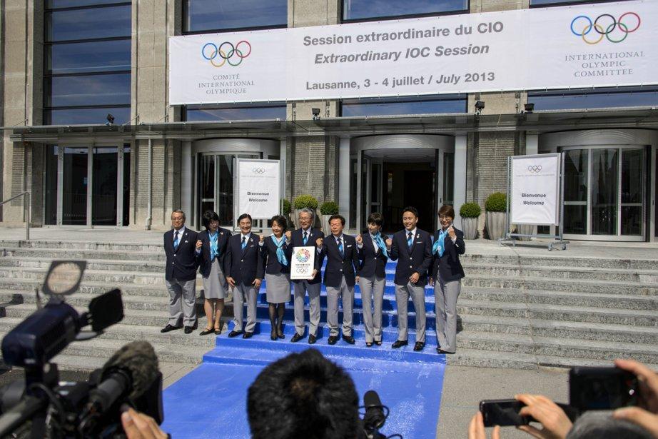 Les délégations d'Istanbul, Madrid et Tokyo (photo) feront... (Photo Fabrice Coffrini, AFP)