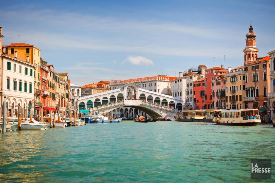 Venise, en Italie.... (Photothèque La Presse)