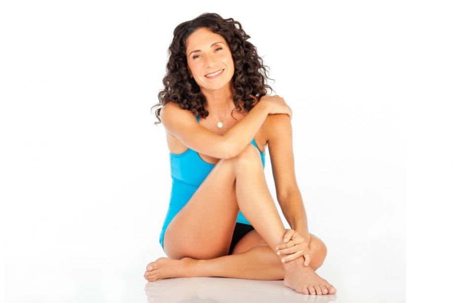 Mandy Ingber, la professeure de yoga des vedettes... (Photo AFP)