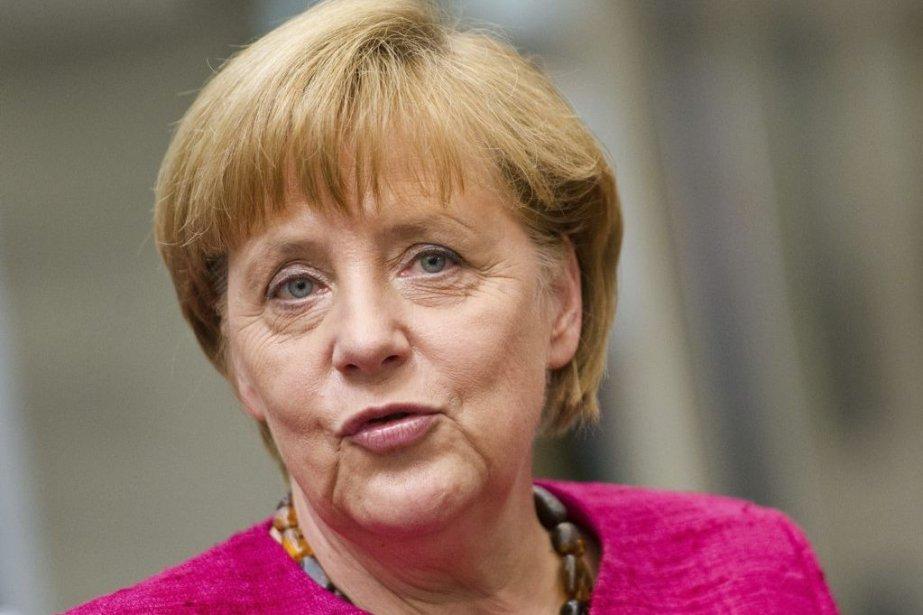 La chancelière a révélé mardi en entrevue qu'elle... (PHOTO DANIEL BOCKWOLDT, AFP)