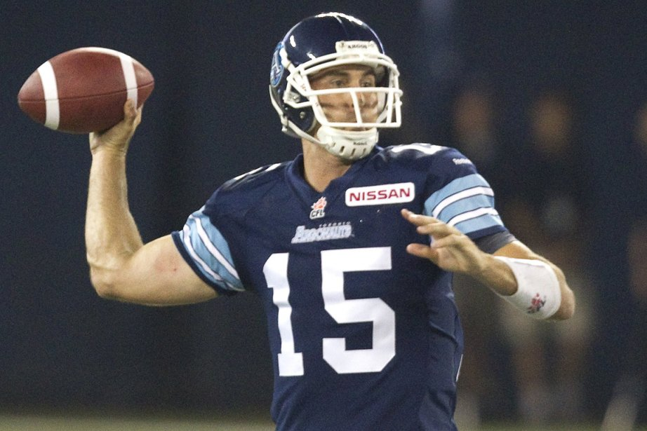 Ricky Ray... (Photo Fred Thornhill, Reuters)