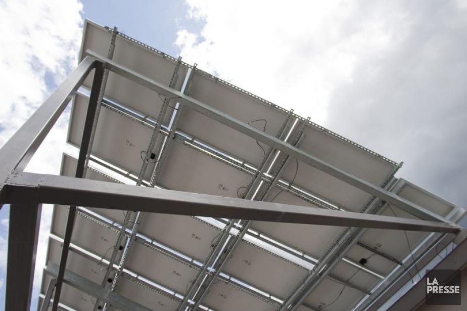 Canadian Solar est l'un des plus grands fabricants... (Photo Ivanoh Demers, Archives La Presse)