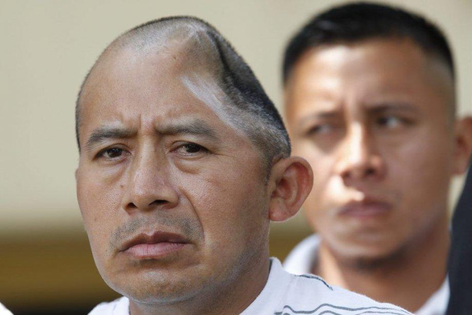 Antonio Lopez Chaj,La victime a perdu l'usage de... (Photo Nick Ut, AP)