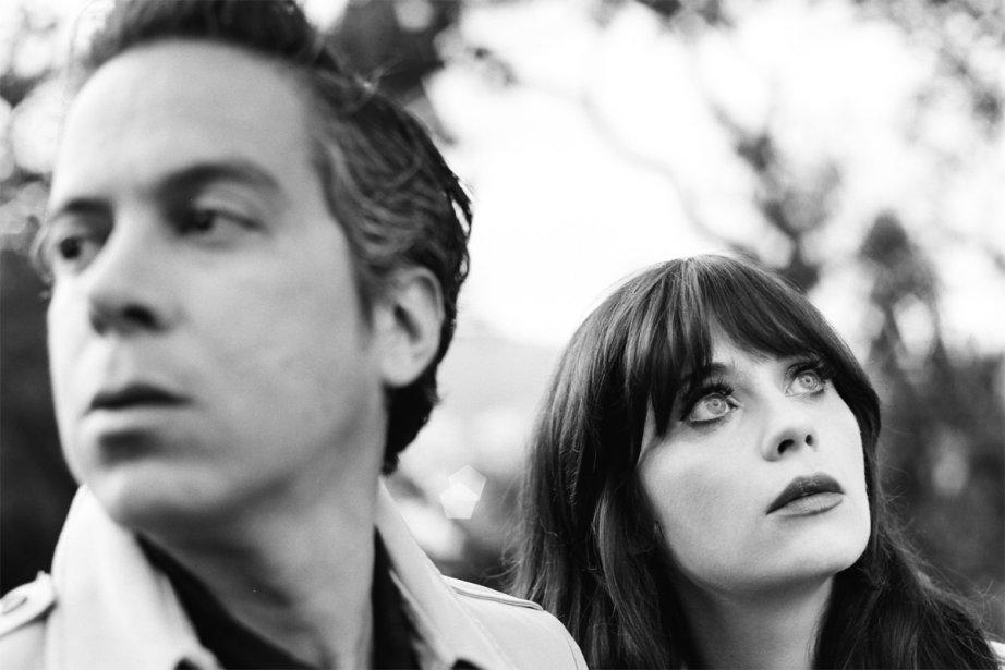 M. Ward et Zooey Deschanel forment le duo... (Photo: fournie par le Festival de jazz de Montréal)