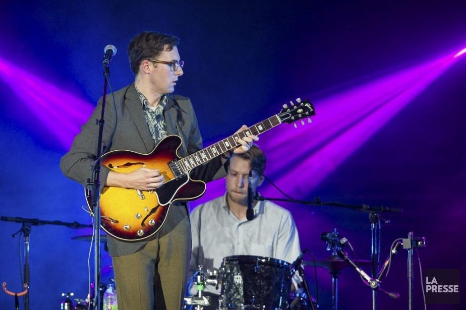 Nick Waterhouse prépare un second disque, dont il... (Photo: Édouard Plante-Fréchette, La Presse)