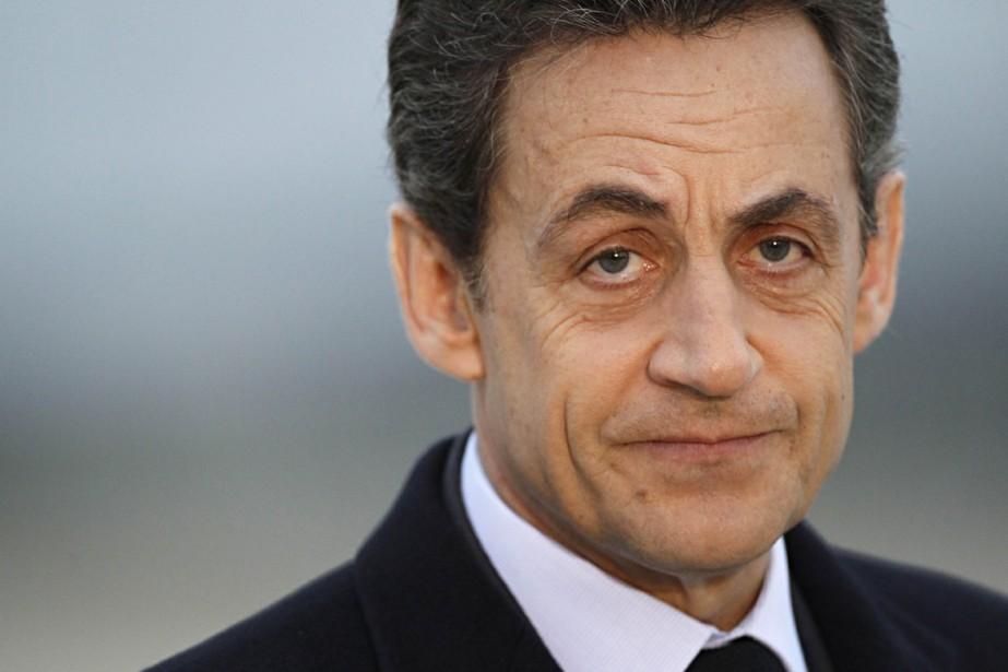 L'ancien président français Nicolas Sarkozy.... (PHOTO THOMAS SAMSON, AFP)