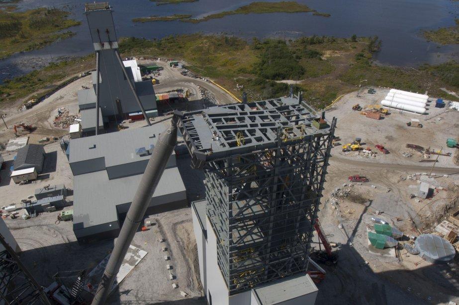 Le projet minier Éléonore, à la Baie James,... (Photo fournie par Goldcorp)