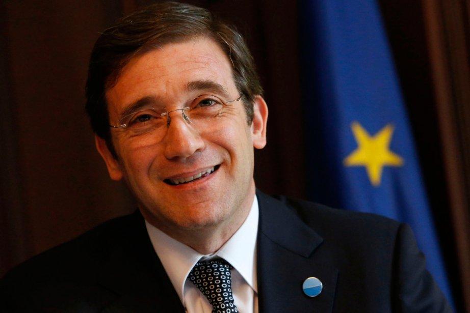 Le premier ministre portugais, Pedro Passos Coelho.... (Photo Tobias Schwarz, Reuters)