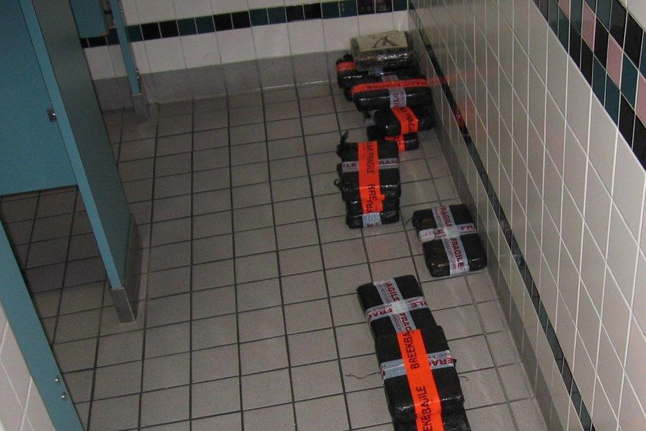 L'Agence des services frontaliers du Canada a saisi 18 kg d'une... (Photo PC)