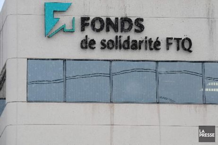 Les investissements du Fonds de solidarité FTQ ont... (Photo archives La Presse)