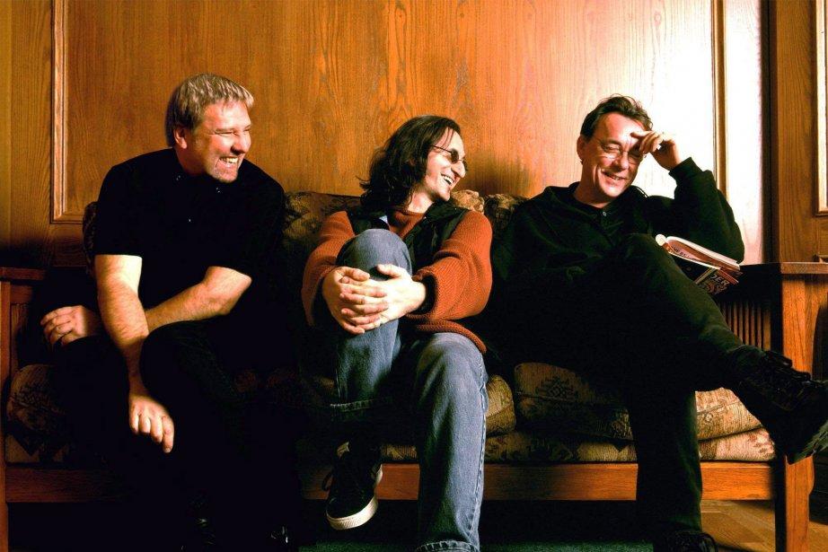 Le trio de Toronto Rush parcourt le pays à partir de samedi, dans... (Photo PC)