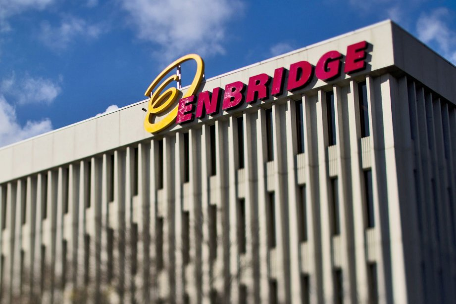 Le siège social d'Enbridge, en Ontario... (Photo Brent Lewin, Bloomberg)