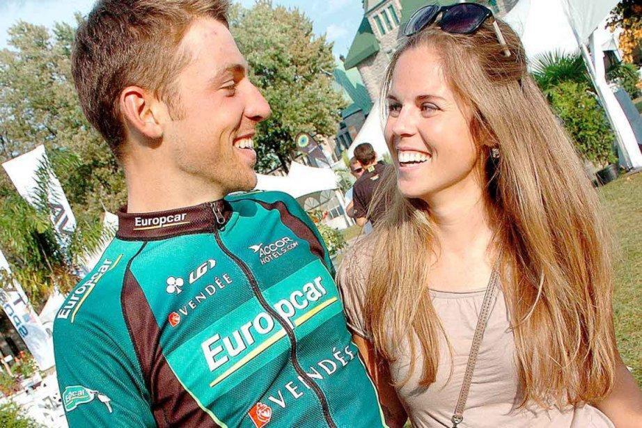 David Veilleux et sa fiancée Émilie Coulombe.... (Photo : Jean-Marie Villeneuve, archives Le Soleil)