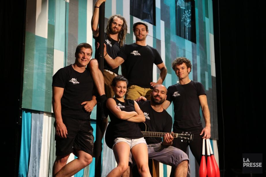 La troupe Flip Fabrique... (PHOTO MARTIN CHAMBERLAND, ARCHIVES LA PRESSE)