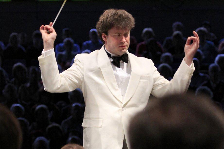 Julian Kuerti lors d'un concert au Festival de... (Photo: Baptiste Grison, Festival de Lanaudière)