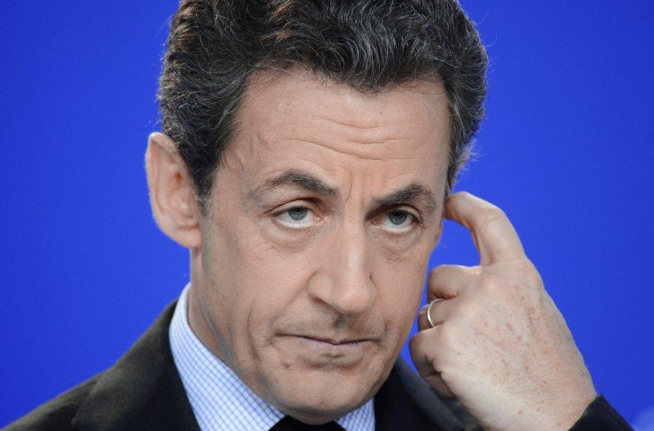 Nicolas Sarkozy... (PHOTO LIONEL BONAVENTURE, AFP)