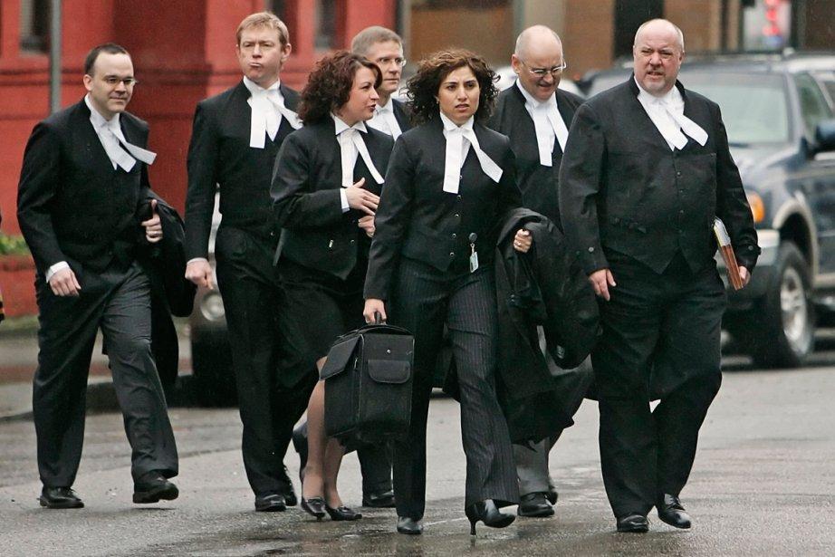 Le principal procureur de la Couronne, Mike Petrie,... (PHOTO ANDY CLARK, REUTERS)