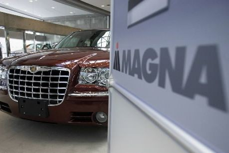 Magna International( (PHOTO ARCHIVES LA PRESSE CANADIENNE)