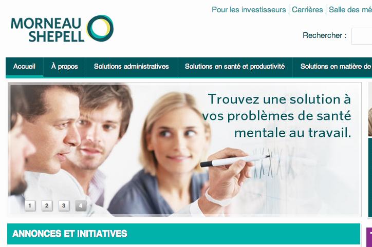 Morneau Shepell compte quelque 3000 employés à travers... (Image tirée du site web)