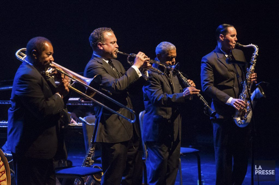 C'est un Preservation Hall Jazz Band rajeuniqu'on a... (Photo: Olivier Pontbriand, archives La Presse)