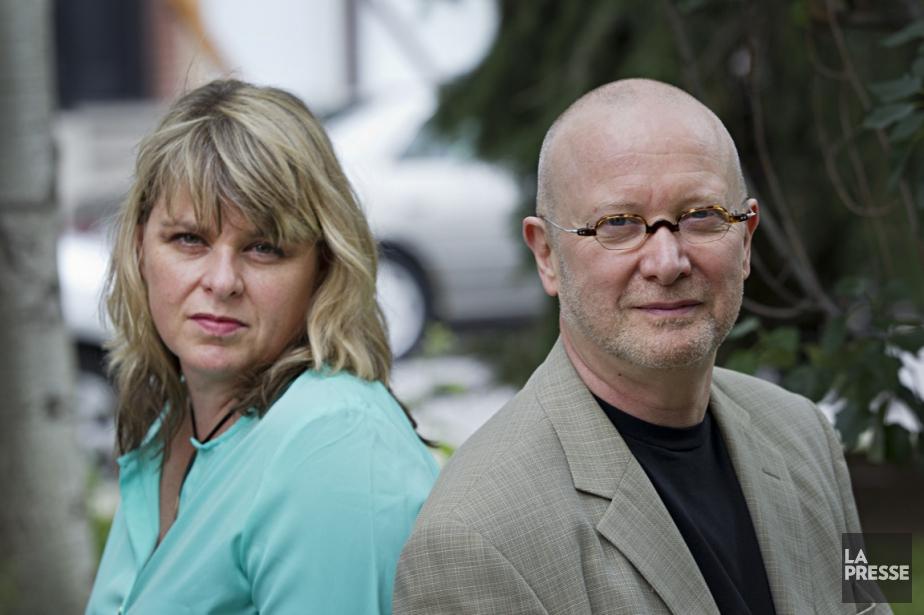 Christine Jensen et Jacques Laurin... (Photo Anne Gauthier, La Presse)