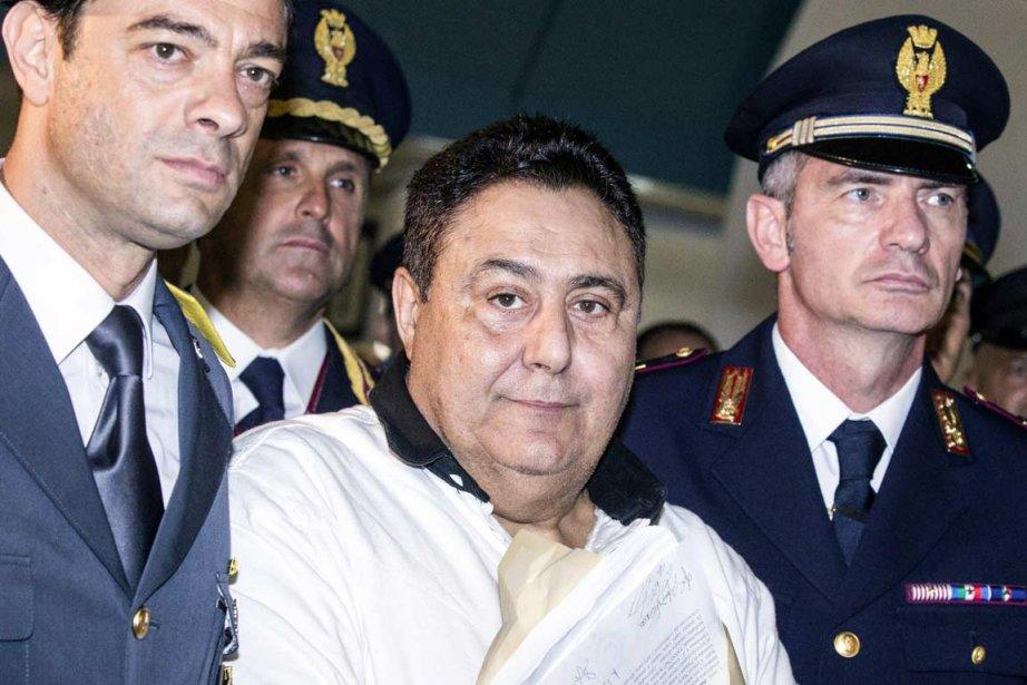 Roberto Pannunzi s'était échappé en 2010 d'une clinique... (PHOTO ANGELO CARCOCNI, AFP)