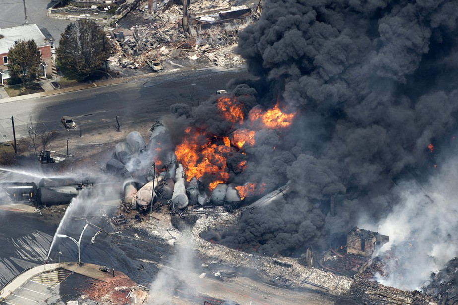 Explosions à Lac-Mégantic: trains ou pipelines?